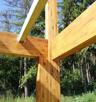 Lepené dřevěné konstrukce